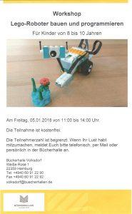 """Flyer """"LEGO Roboter bauen und programmieren"""""""
